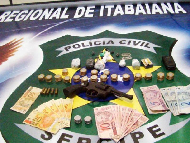 Polícia prende traficantes em Itabaiana