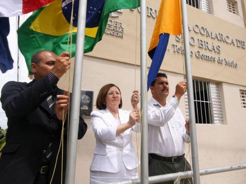 Reativação da comarca de São Brás reforça compromisso social