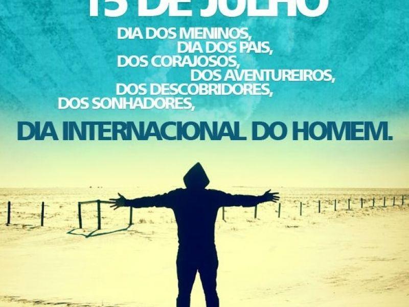 O Dia internacional do Homem