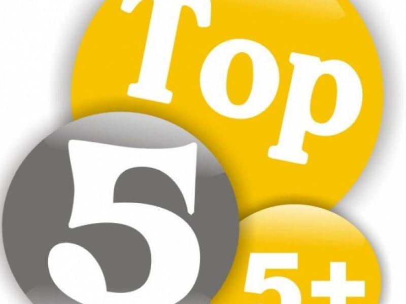 TOP 5 NO AR!!