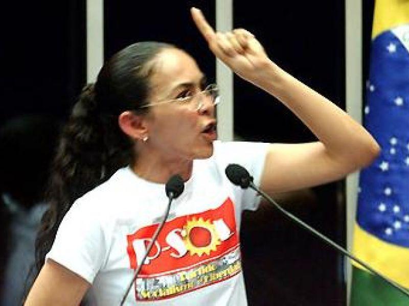 Heloísa Helena aparece na frente de Dilma Rousseff no RJ
