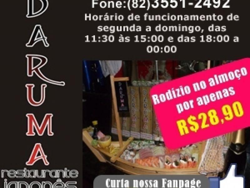Quer deliciar de pratos maravilhosos? Corra até o Daruma Restaurante!