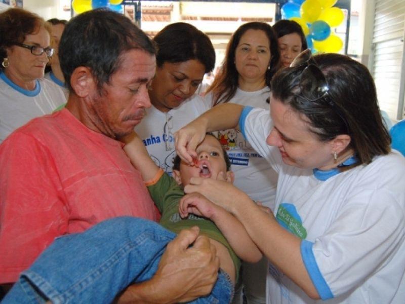 Sergipe é o 3º do Nordeste em cobertura vacinal contra pólio